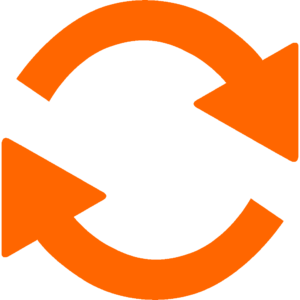 change icon orange