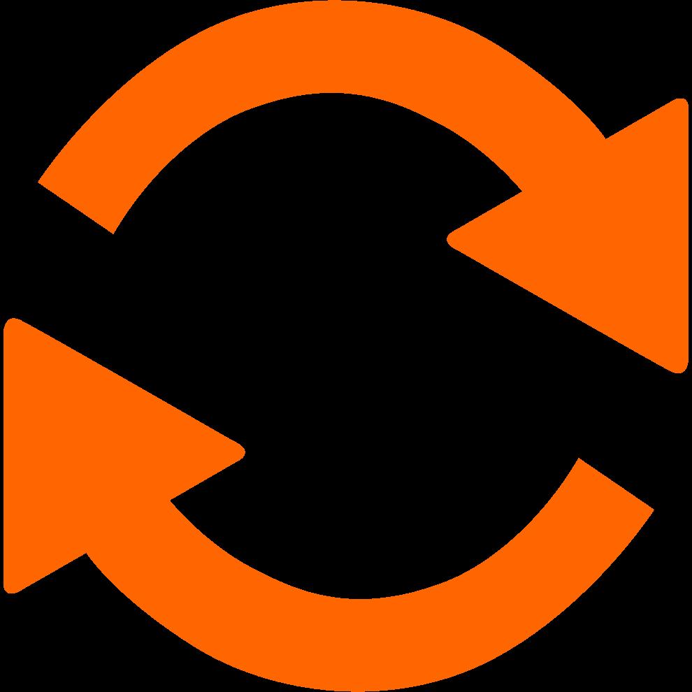 change icon orange