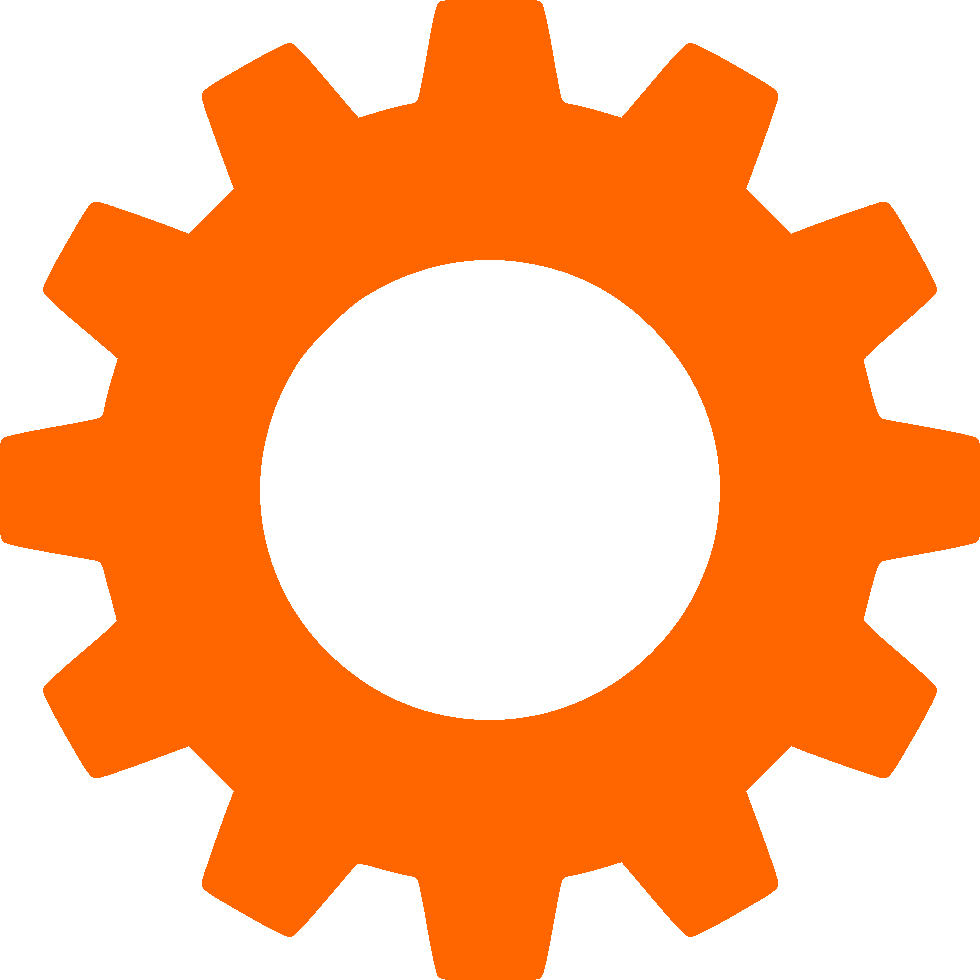 options icon orange